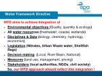 water framework directive