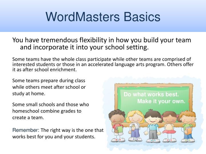 WordMasters