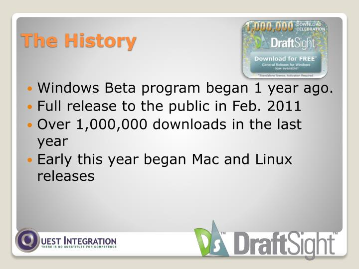Windows Beta program began 1 year ago.