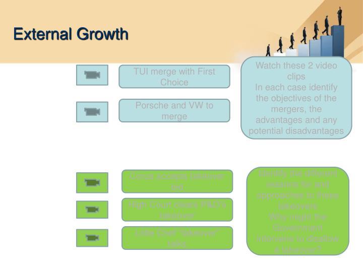 External Growth