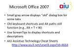 microsoft office 20071