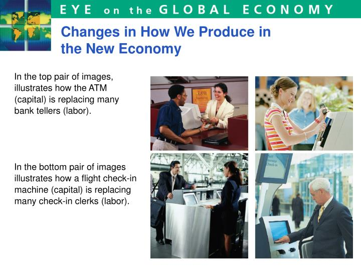 Changes in How We Produce in the New Economy
