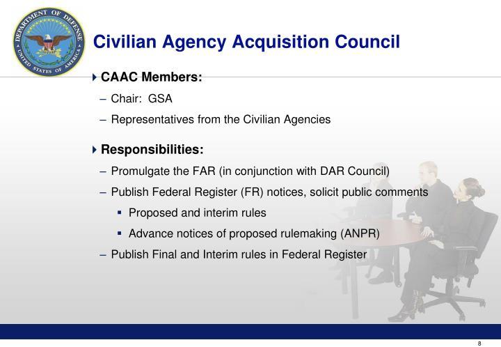Civilian Agency Acquisition Council