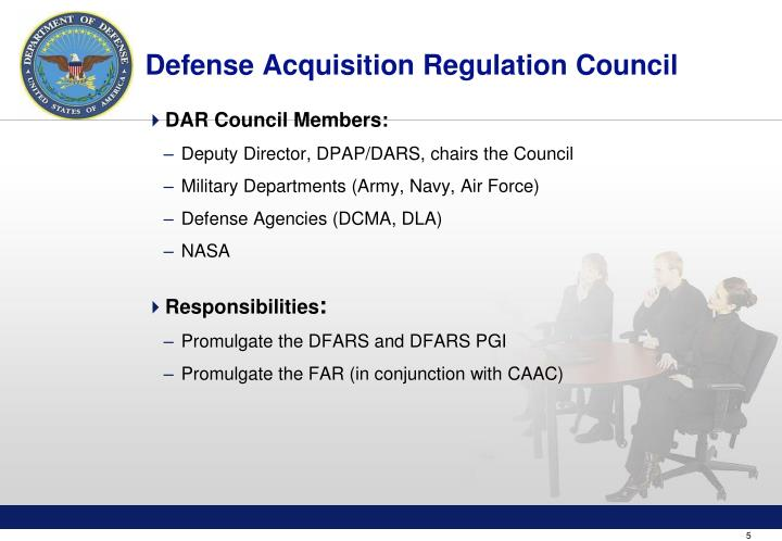 Defense Acquisition Regulation Council