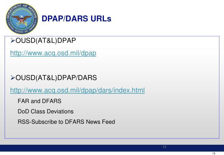 DPAP/DARS URLs