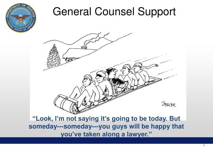 General Counsel Support