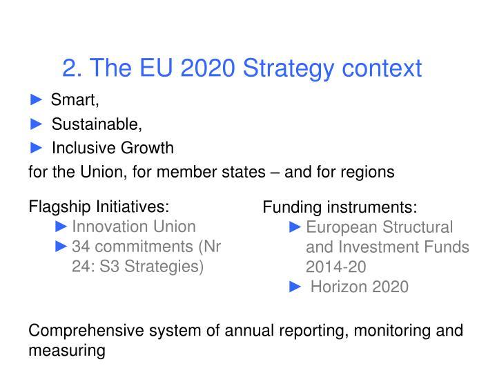 2. The EU 2020