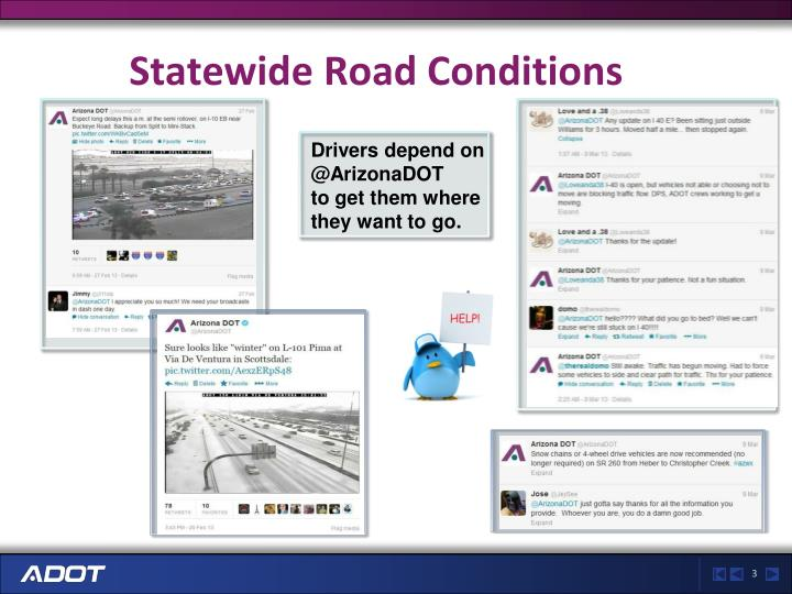 Statewide Road Conditions