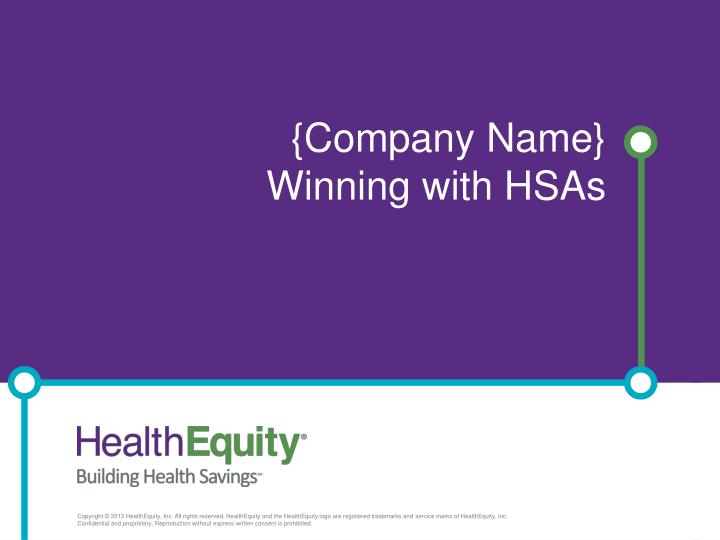 Company name winning with hsas