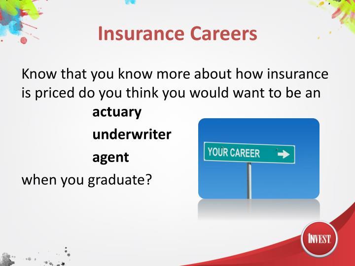 Insurance Careers
