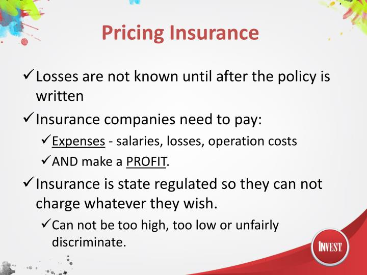 Pricing Insurance