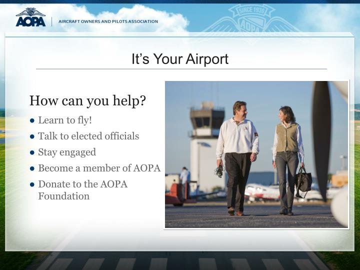 It's Your Airport