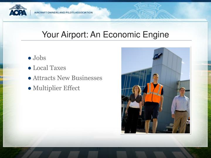 Your Airport: An Economic Engine