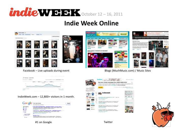 Indie Week Online