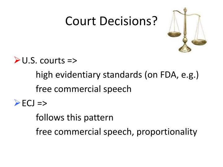 Court Decisions?