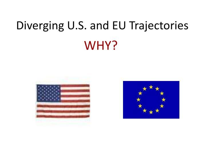Diverging U.S. and EU Trajectories