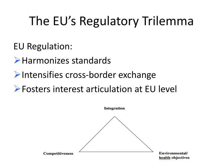 The EU's Regulatory
