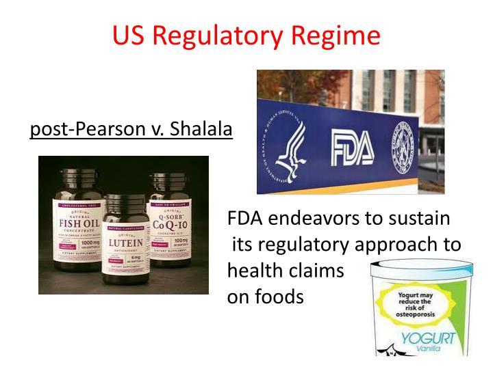 US Regulatory Regime