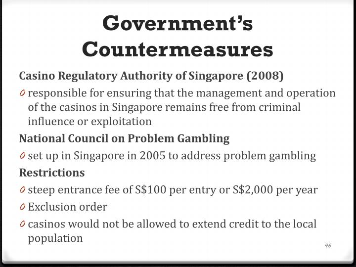 Government's Countermeasures