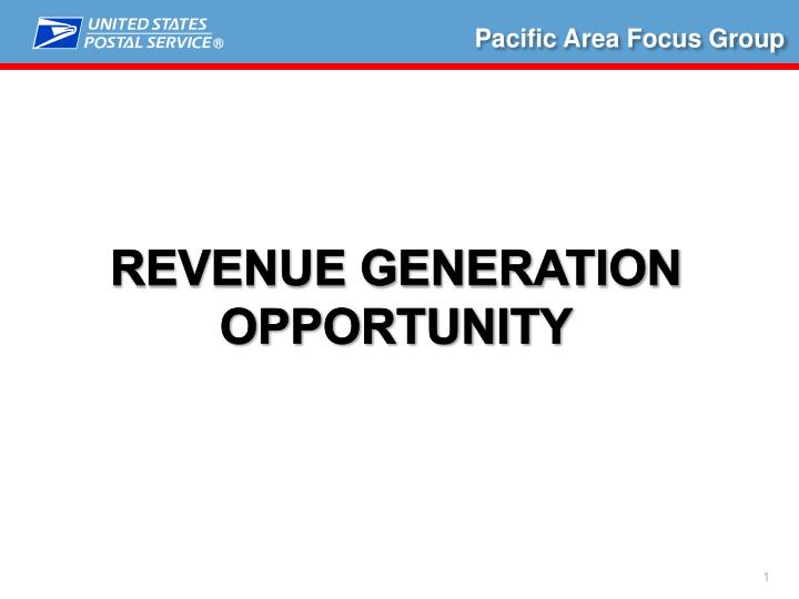 Pacific Area Focus Group