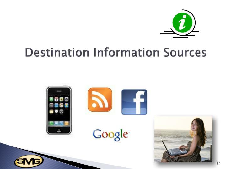 Destination Information Sources