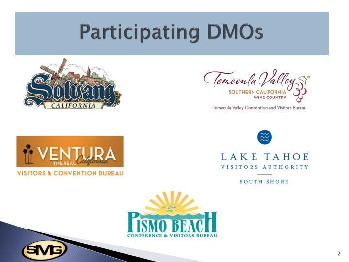 Participating DMOs