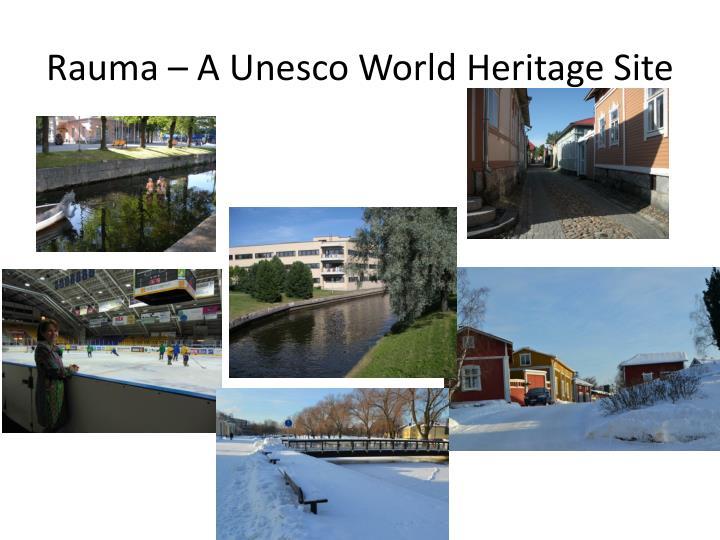 Rauma – A Unesco World