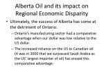 alberta oil and its impact on regional economic disparity2