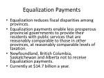 equalization payments2