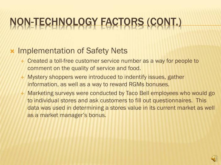 Implementation of Safety Nets