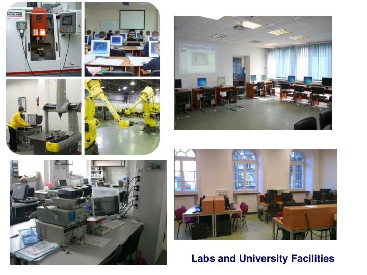 Labs and University Facilities