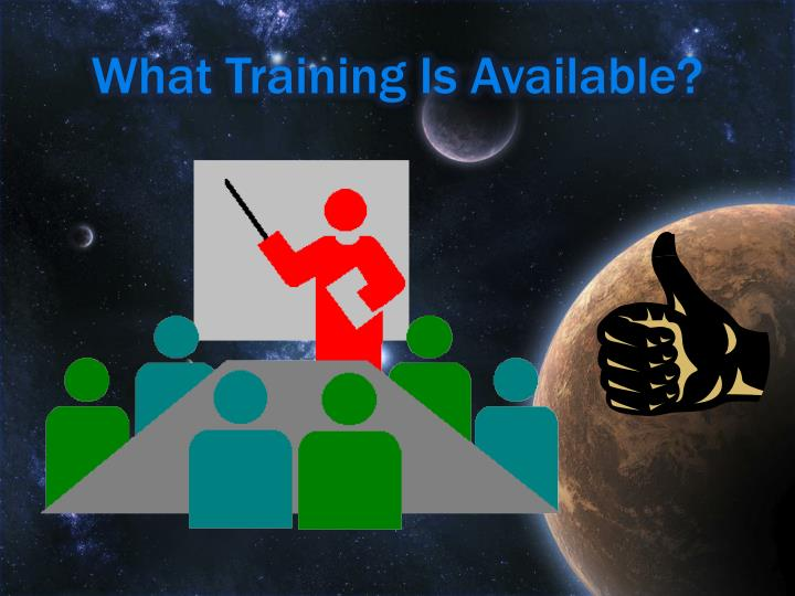 What Training Is Available?