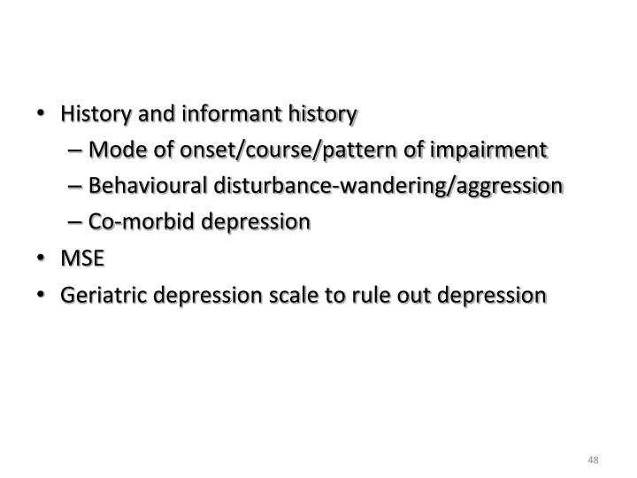 Dementia-Diagnosis