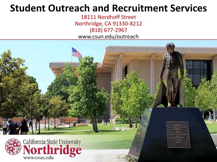 Student Outreach and Recruitment Services