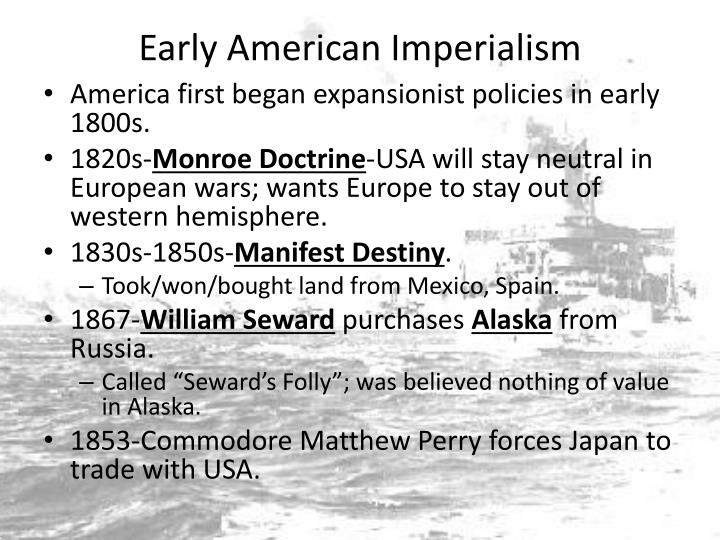 Early American Imperialism