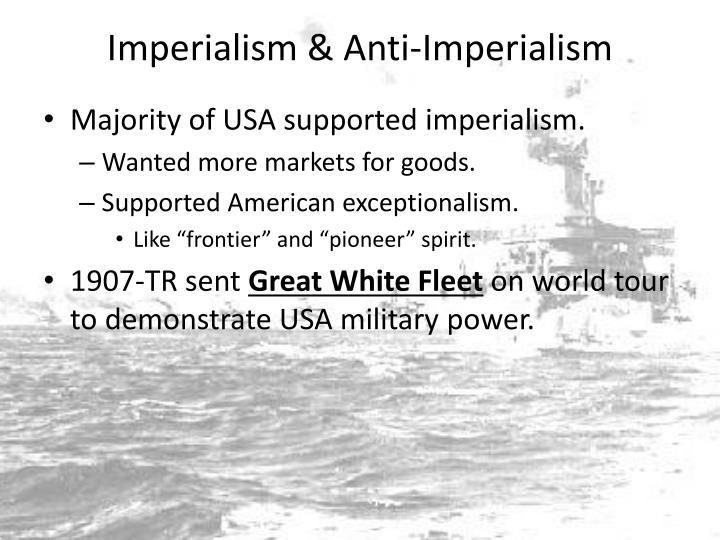 Imperialism & Anti-Imperialism