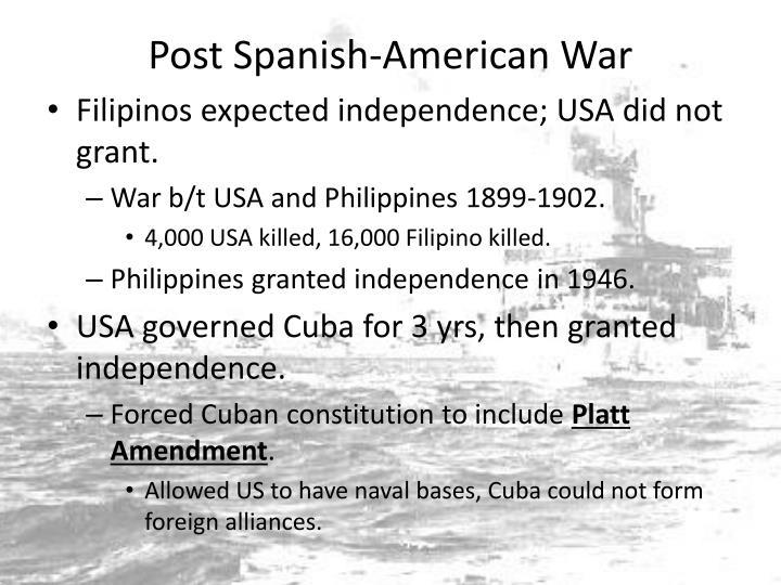 Post Spanish-American War