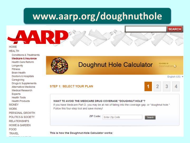 www.aarp.org/doughnuthole