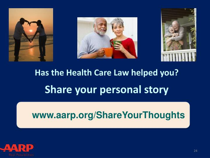 Has the Health Care Law helped you?
