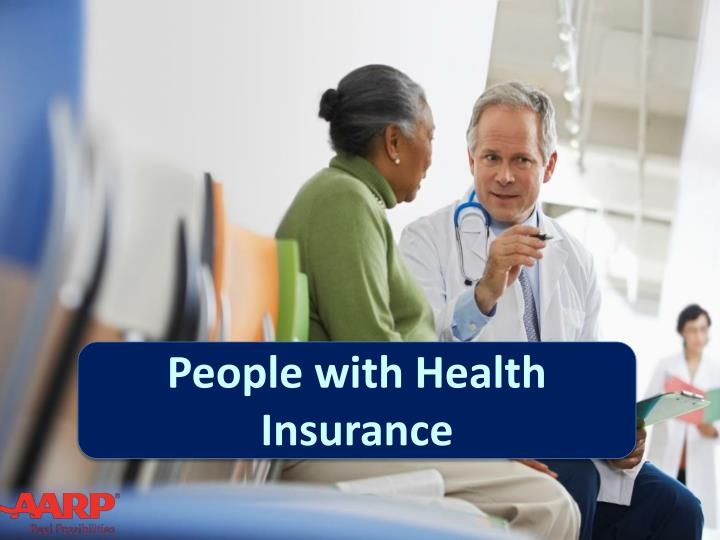 People with Health Insurance