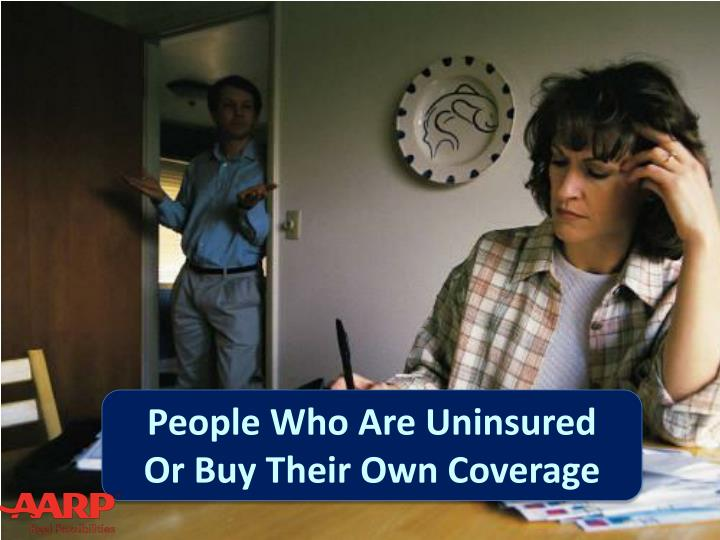 People Who Are Uninsured