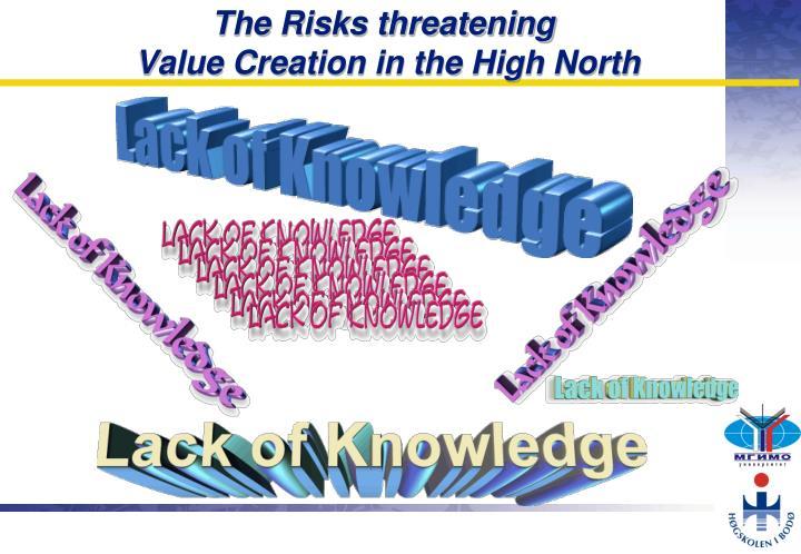 The Risks threatening