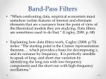 band pass filters