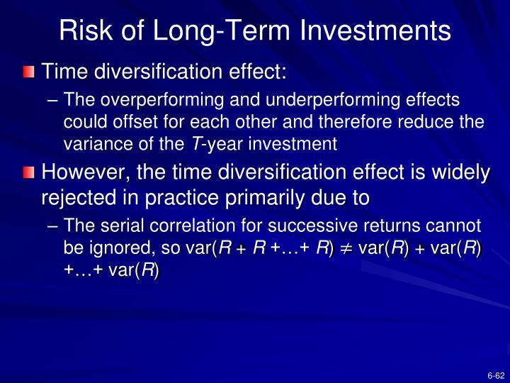 Risk of Long-Term Investments