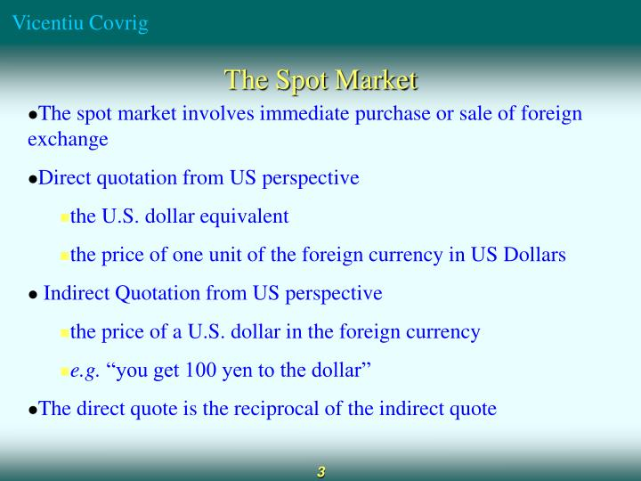 Direct indirect quote forex