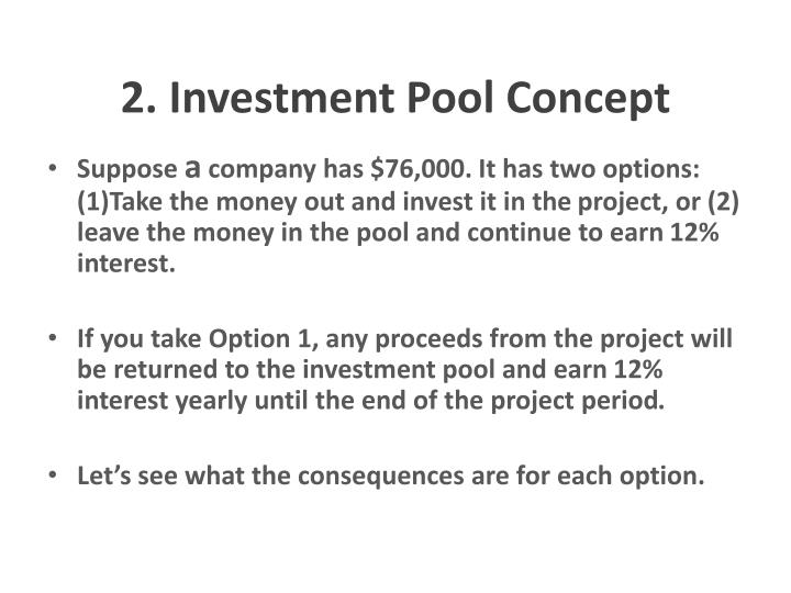 2. Investment