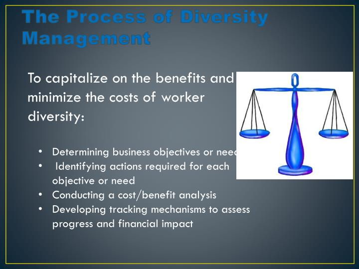 The Process of Diversity Management
