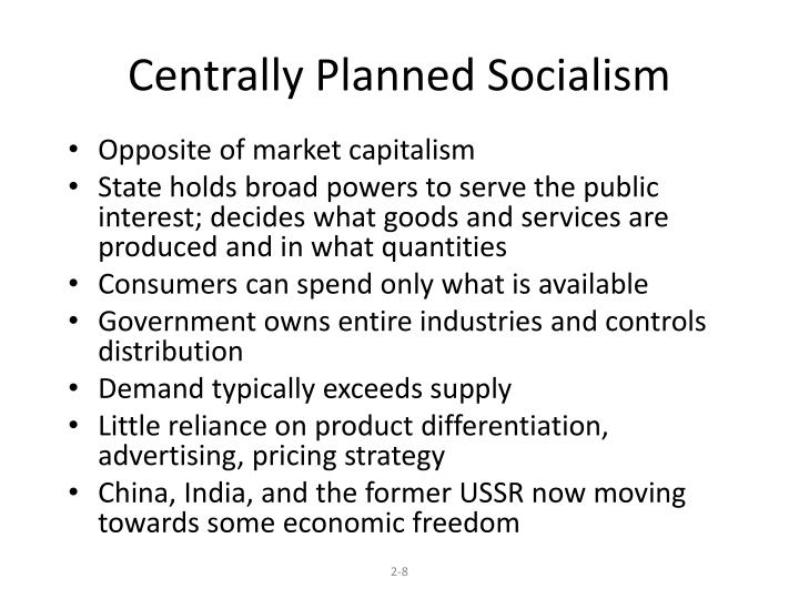 Centrally Planned Socialism