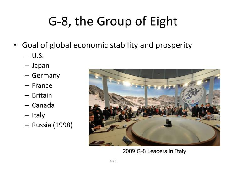 G-8, the Group