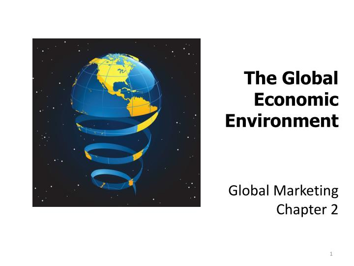 global marketing chapter 2